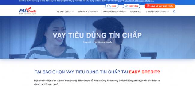 Easy Credit – Vay siêu tốc lên đến 35.000.000 VND