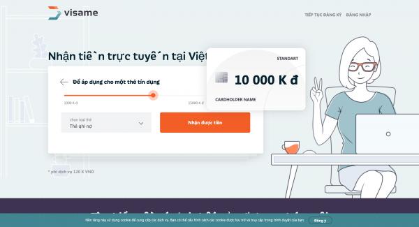 Visame – Vay siêu tốc lên đến 30.000.000 VND